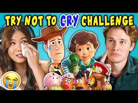 Teens React To Try Not To Cry Challenge