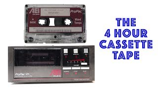 Cassette BGM Systems - how to squeeze 4 hrs of music onto one tape