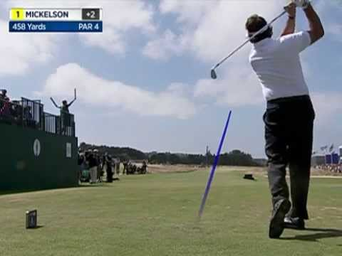 2013/07/21 - British Open 2013 Protracer Compilation (Final Round, 1st Tee)