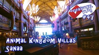 Disney's Animal Kingdom Villas, Sanaa. Occasional Vlog #47