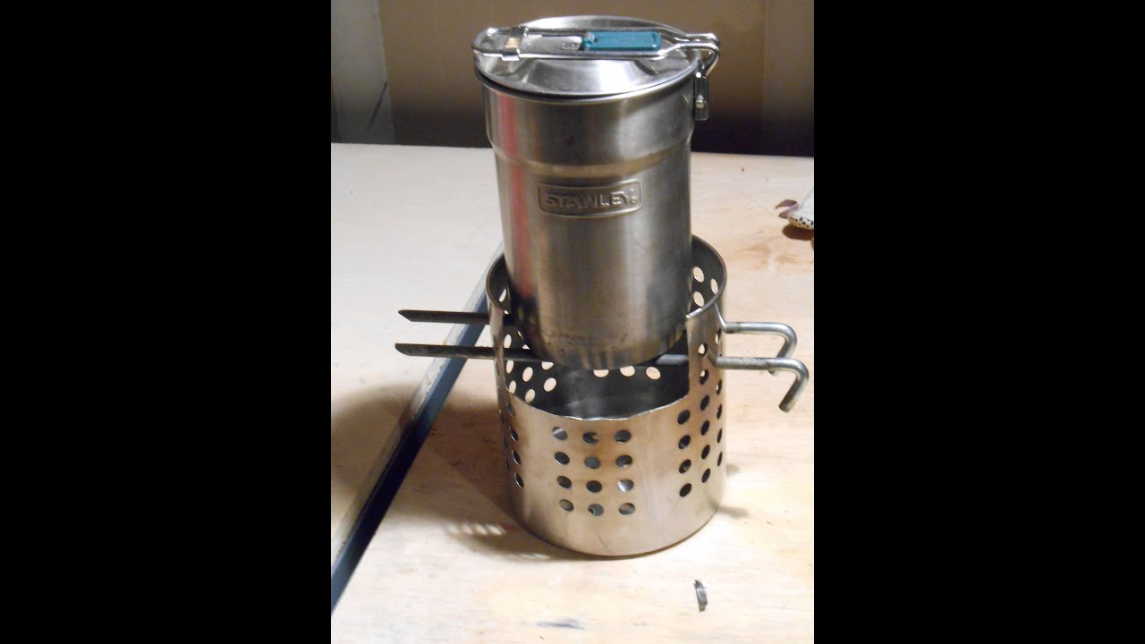 How To Make A Wood Burning Stove Youtube