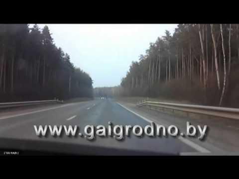 Преследование мотоциклиста в Гродно