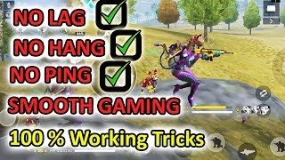 How to fix lag in free fire | Free fire tricks and tips