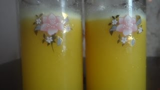 How to make passion fruit juice