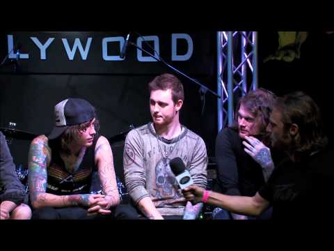 Asking Alexandria Interview at Peavey Hollywood
