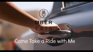 Uber Eats | Take a Few  Trips with Me | Food Deliver Ride Along