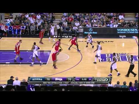 Isaiah Thomas vs Spencer Hawes March 24, 2013