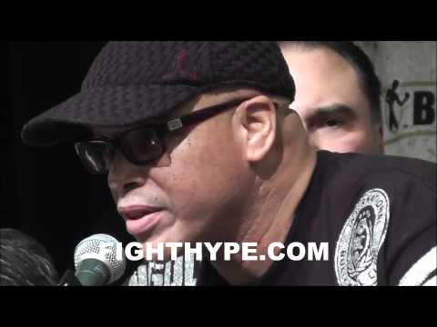 VIRGIL HUNTER SOMEWHAT DISAPPOINTED IN STOPPAGE AFTER ANGULOS TOUGH TOUGH FIGHT WITH CANELO