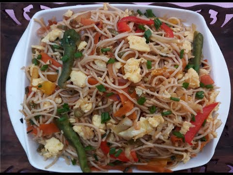 Egg noodles in tamil/egg Hakka noodles/Restaurant style egg noodles/Noodles recipe
