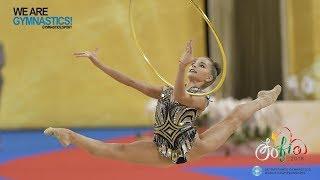 2018 Rhythmic Worlds, Sofia (BUL) - Hoop+Ball Finals, Highlights - We Are Gymnastics !