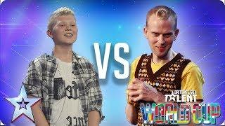 Kieran Gaffney vs Robert White | Britain's Got Talent 2018