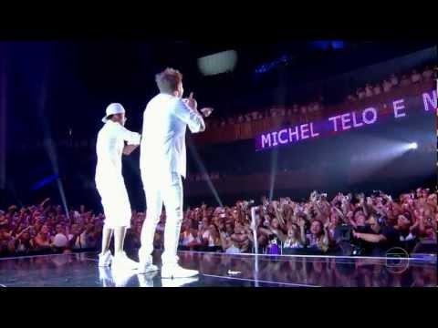 Мишел Тело и Неймар пеят Ai Se Eu Te Pego | Show da Virada