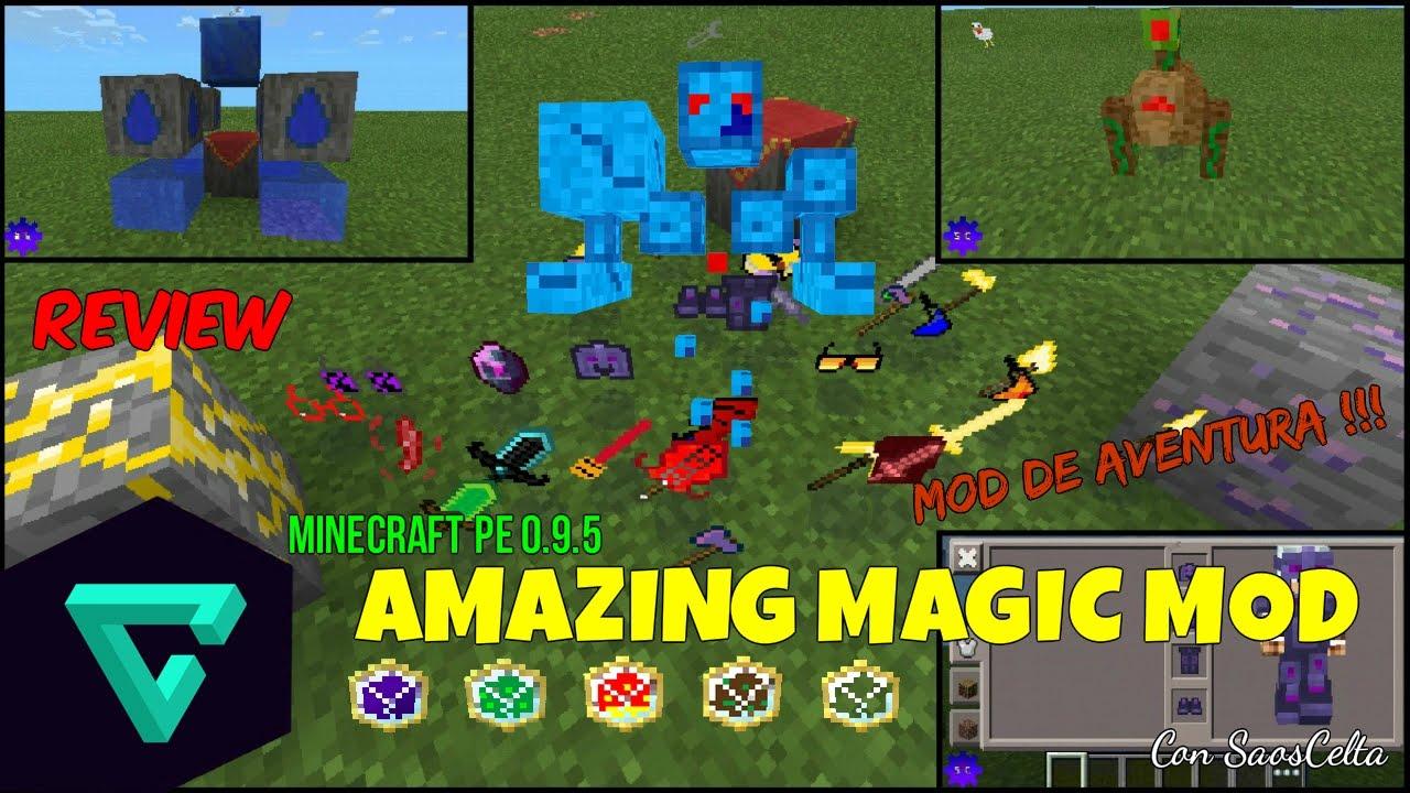 Amazing Magic Pocket Edition Mod