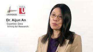 Dr. Aijun An - Data Mining