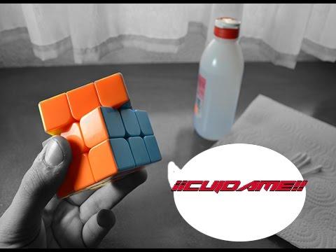 Limpia,cuida y lubrica tu Cubo de Rubik