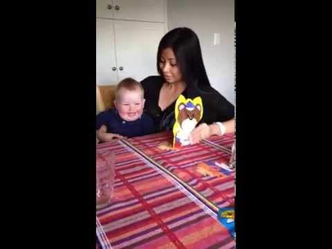 Cutest baby giggles