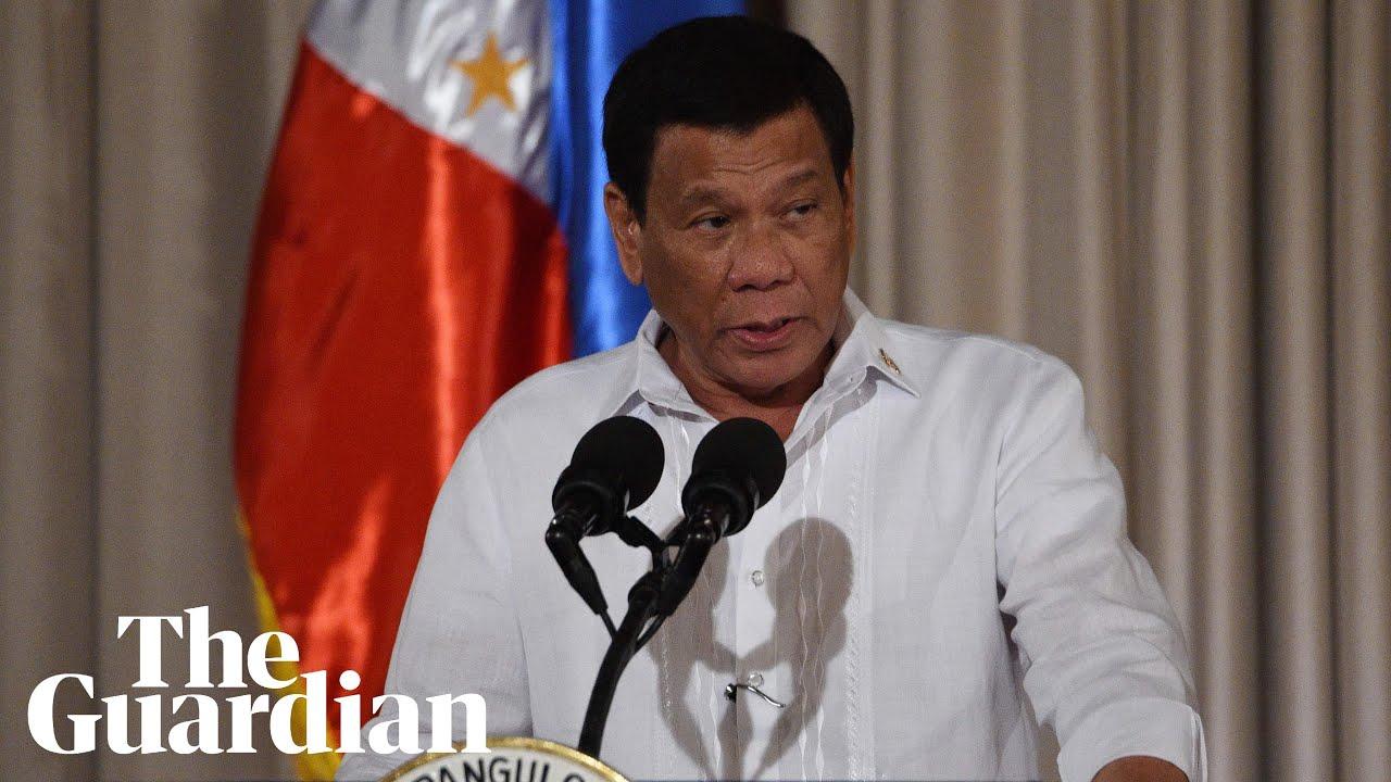 Philippines president admits extrajudicial killings