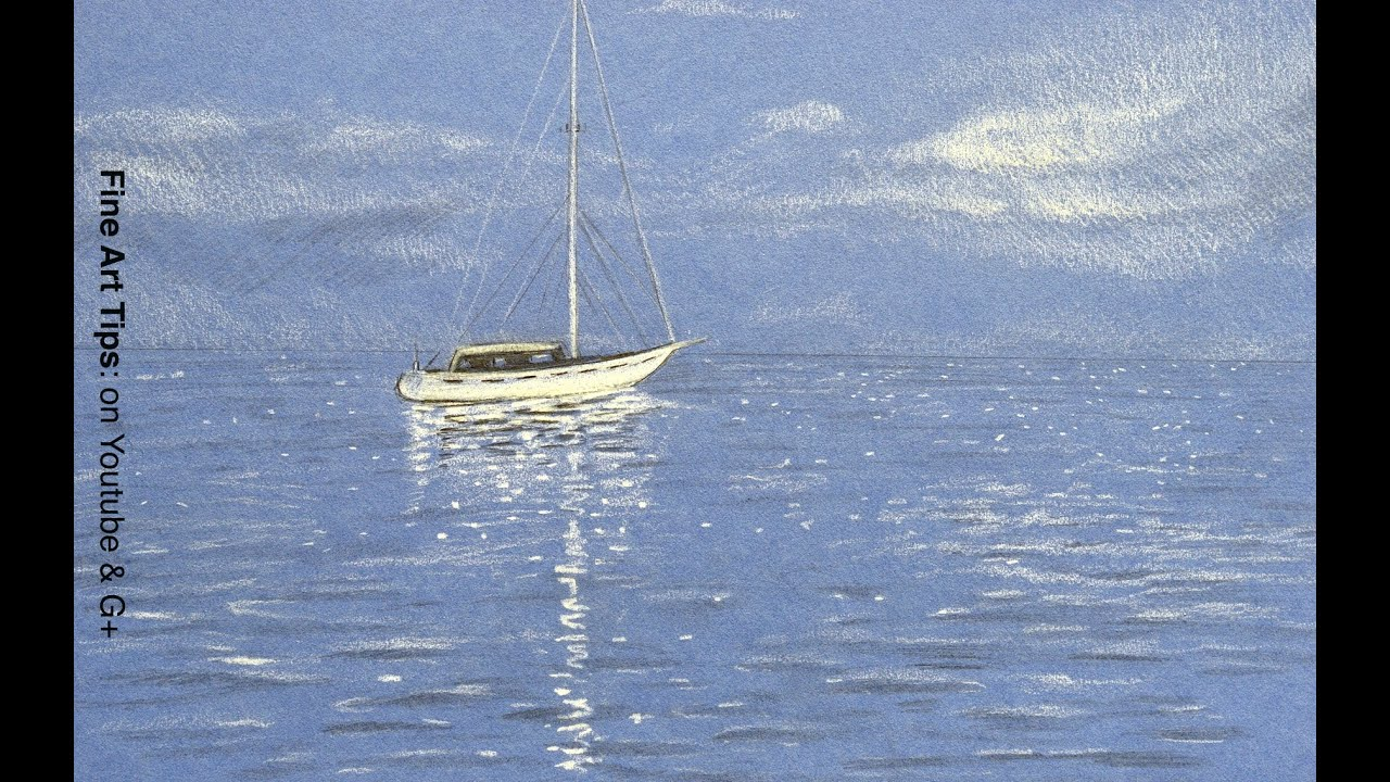 Oil Paintings Of Boats In Water