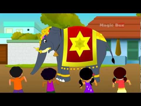 Kovil Yannai - Chellame Chellam Volume 4 Tamil Animated Nursery Rhymes video