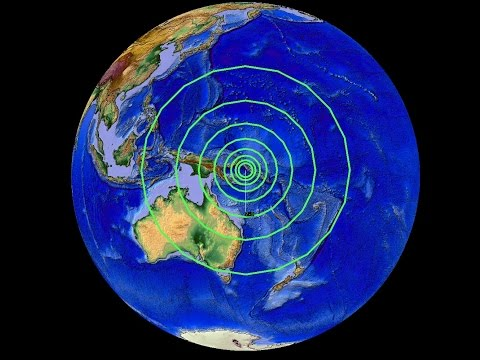 5/07/2015 -- Large 7.3M earthquake strikes Papua New Guinea -- Tsunami warning issued