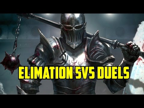For Honor Gameplay Elimination 4v4 NEW Multiplayer Mode