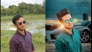 Photoshop Manipulation Tutorial For beginner |   make your first manipulation Photo