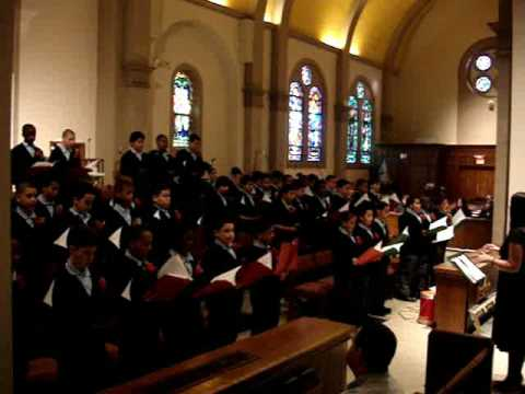 The De La Salle School in Freeport, NY Sings Carols