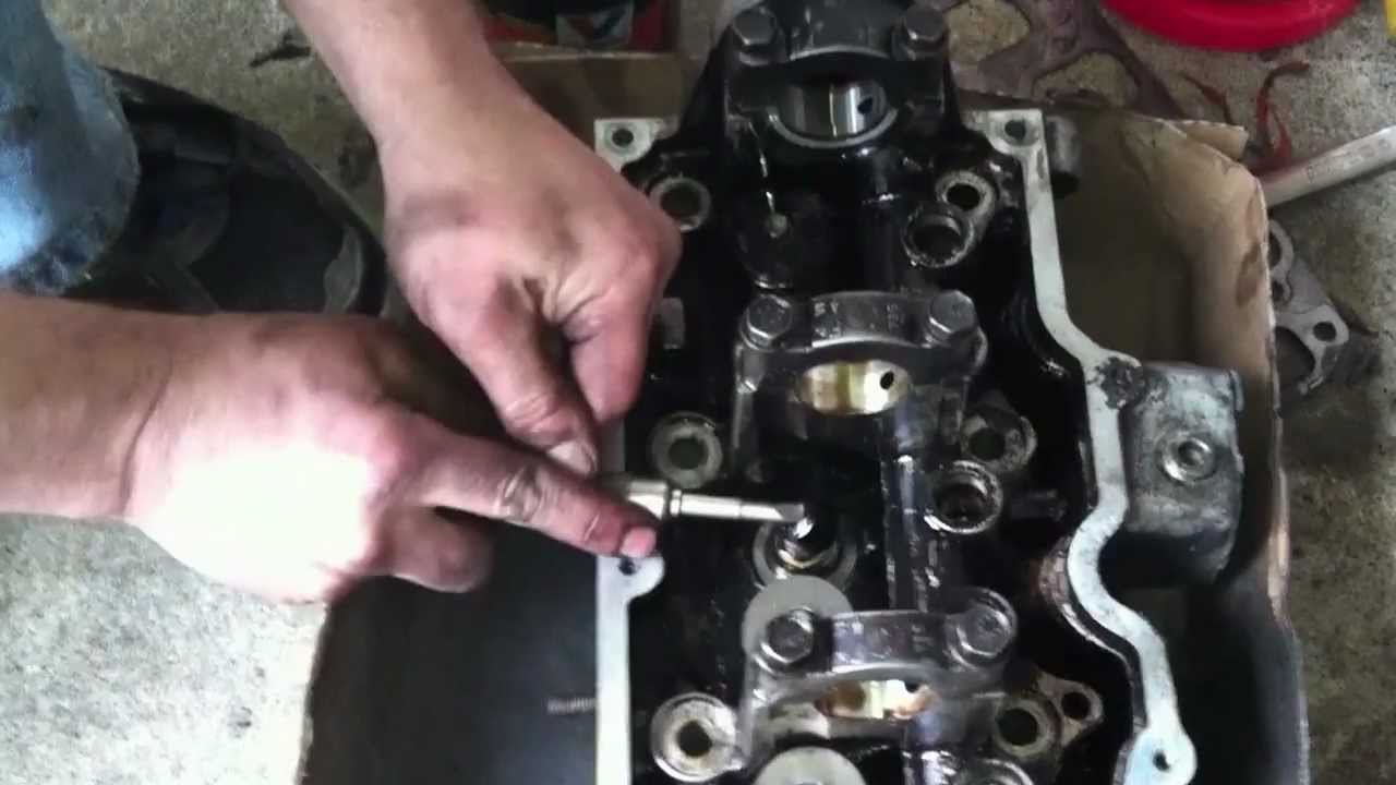 Howto Change Valve Stem Seals Youtube