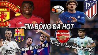 Tin bóng đá Chuyển nhượng 17/05 MU đã có Wan-Bissaka? Arsenal săn trung vệ, Real bán Bale cho Barca?
