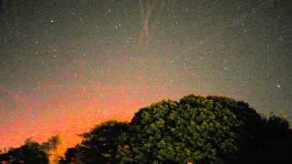 Threads of aurora over scarborough 13th sept