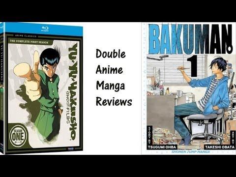 Double Reviews:Yu Yu Hakusho Blu-ray Season 1/Bakuman Manga Vol 1