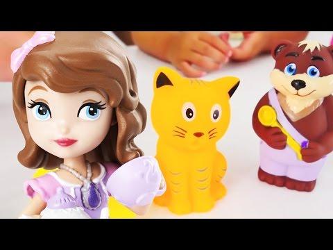 Развивающее видео. Аня и Маша изучают животных.