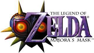 The Legend of Zelda  Majora's Mask Title Demo 01