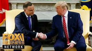 Trump, Polish president hold a joint press conference