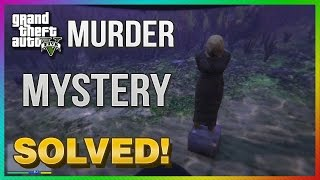 GTA 5 Next Gen MURDER MYSTERY SOLVED! All Locations & Clues! (GTA 5 Xbox One)