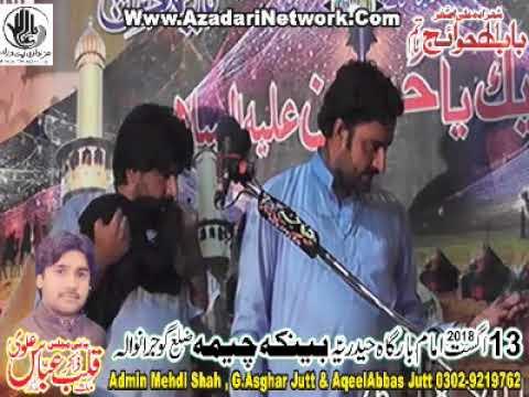 Zakir Syed Sajid Shah zakir Rizwan Abbas Qeyamat 13 August 2018 Banke cheema