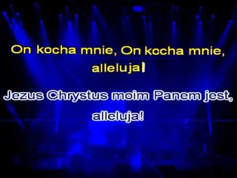 Karaoke - Piosenka Religijna - Jezus Chrystus Moim Panem Jest, Alleluja ( Www.letsing.pl )