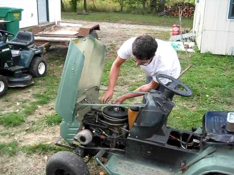 my 35 mph lawn mower !!