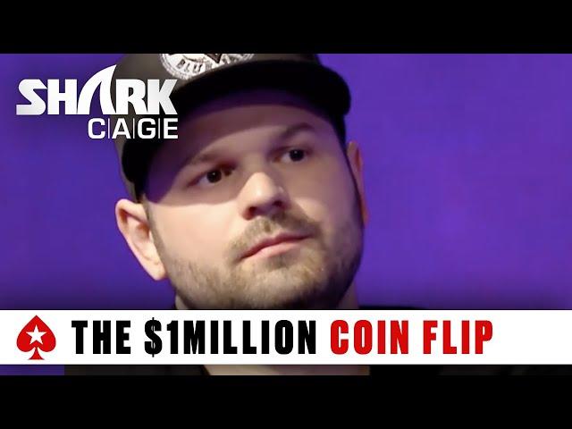 Shark Cage: The $1,000,000 Coin Flip | PokerStars