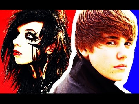 Black Veil Brides and Justin Bieber NEW SONG?? Andy Biersack Danny Worsnop Interview 2012