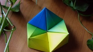 Origami  Hexaflexagon  Paper Toy