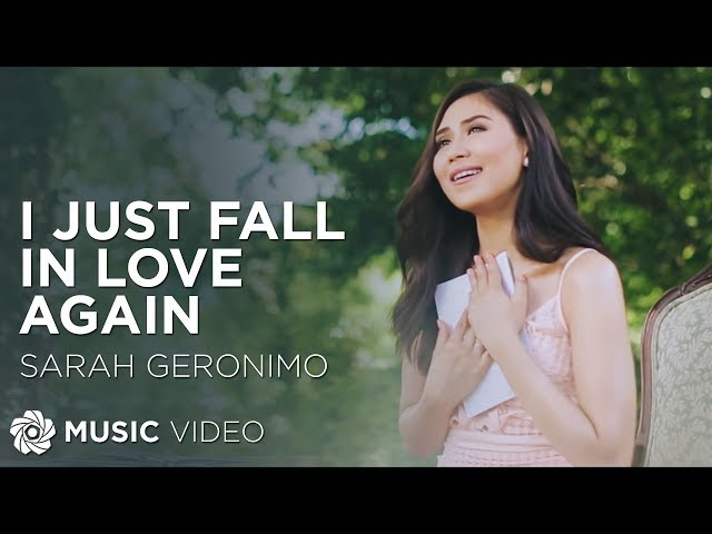 Sarah Geronimo - I Just Fall In Love Again (Official Movie Theme Song)