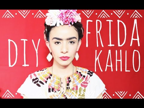 DIY FRIDA KAHLO MAKEUP - Maquillaje y Peinado! ♡ JustLiveAlicia