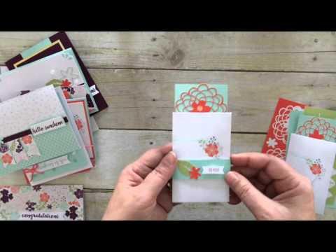 Paper Pumpkin Gift Card Holder