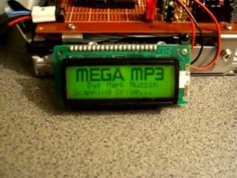 Standalone Hard Drive MP3 Player with IR Remote Control