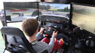 iRacing FULL MOTION SIMULATOR - Spa - Williams F1 Car
