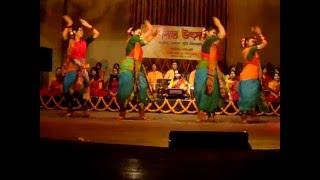 Nil Digonte Oi Fuler Agun Laglo - Dance on Tagore Song