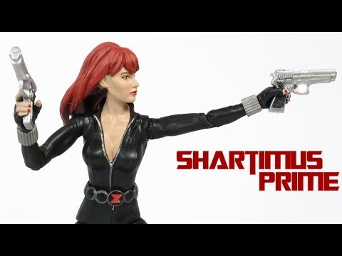 Marvel Select Black Widow Black Costume Action Figure Review