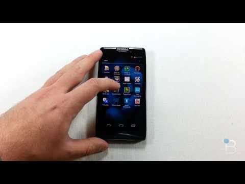 Android 4.1.2 Jelly Bean en el Motorola RAZR HD (español)