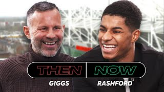 Marcus Rashford And Ryan Giggs Talk Honestly About Their Manchester United Careers | Then And Now